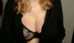 webkamera rødhårete lingerie store pupper