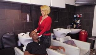 Krissy Lynn in Hair Stylist Anal At Hair Studio - BlacksOnMoms