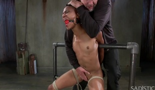 Extreme Slavery Water Boarding Evil Punishment and Intensive Orgasms