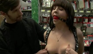 Doxy submits won't hear of sexy cum-hole absolutely during a group punishment
