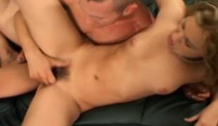 blonde hardcore slikking pornostjerne blowjob