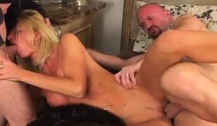 blonde hardcore milf gangbang store pupper