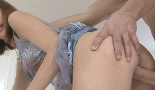 Heather Vahn moans painless she acquires screwed