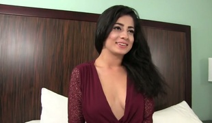 Excited girl Nadia Ali fucked brutally in a doggy position
