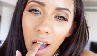 Nice-looking eyed Priya Price pumped in the love tunnel