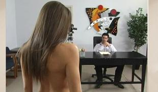 brunette langt hår brystvorter