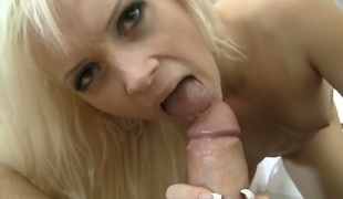 Dolly Spice gulps Rocco Siffredis erect dong