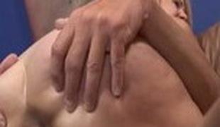 Fabulous pornstar Erica Lauren in mad cumshots, blond adult scene