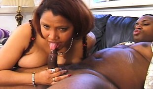 Biggest tit Kira B gets a big bone from Cuba to chew on and slam in her wazoo