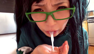 Hottest Japanese floozy in Amazing JAV censored POV, Big Tits scene