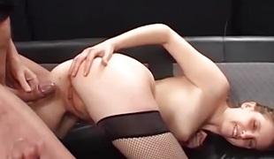 blowjob svelge facial anal babe