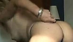 amatør blonde milf strømper handjob