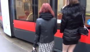 Hawt dilettante masterbating vid shows me jill off in bus