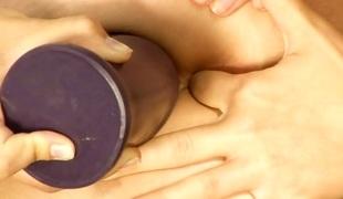 tenåring lesbisk fingring dildo leketøy