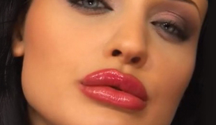 Ancient eyed hottie Aletta Ocean takes Three!