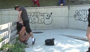 anal store pupper offentlig