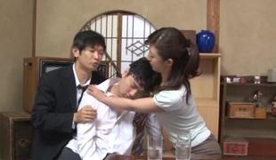 Sayuri Ikuina mature Japanese chick gets pounded