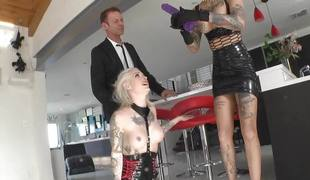Bonnie Rotten and Rocco Siffredi in a bawdy hot threesome