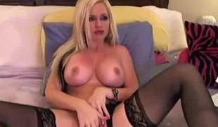 blonde webkamera