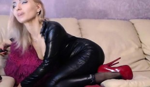 amatør blonde solo webkamera