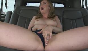 Miniature tits slut is getting licked