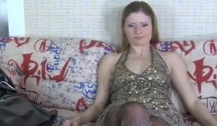 Vivian in pantyhose movie scene