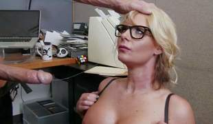 Business woman Phoenix Marie is a curvy doxy who loves fucking with her employees. Vehement milf with upper case breast and thick nuisance takes Johnny Sins wang eagerly. He loves her body and bangs her the way that babe loves it