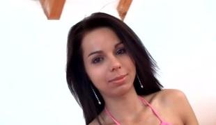 amatør tenåring brunette kjønn petite